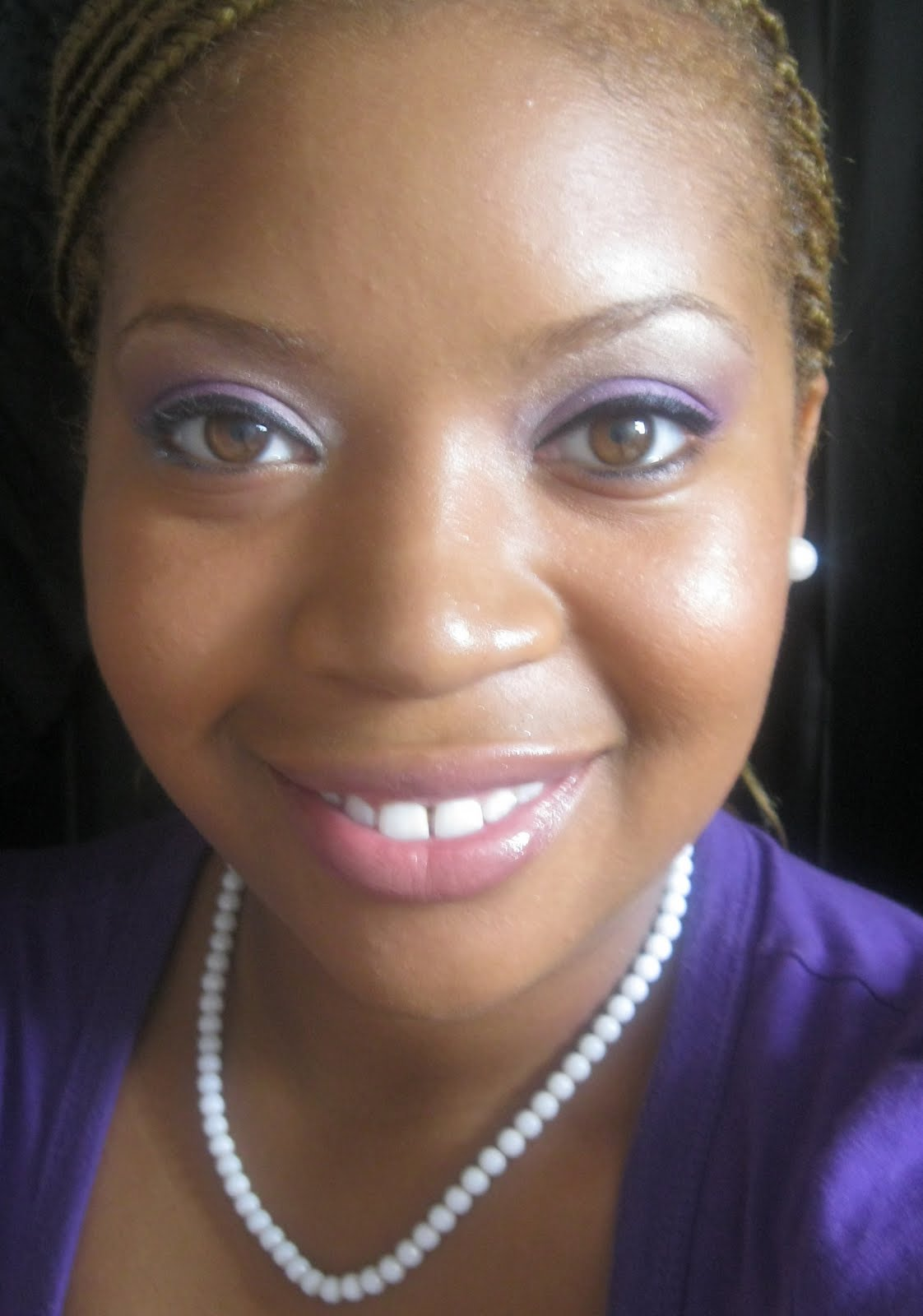 Beausic Request Purple Eye Shadow Looks For Darker Skin