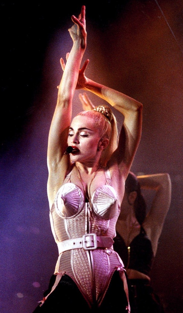 Madonna Makeup Series 6 Blond Ambition Tour Makeup