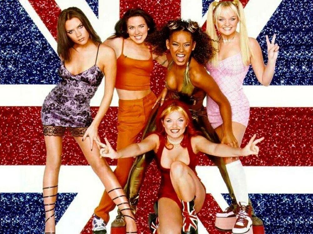 Spice Girls Then
