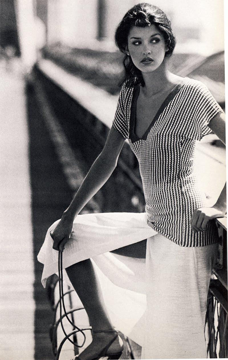Janice Dickinson in 1977