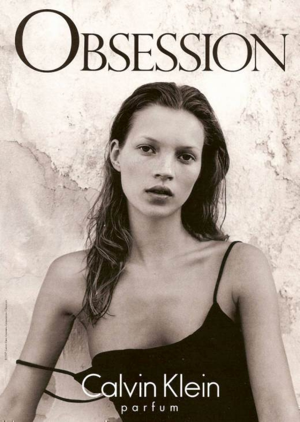 Kate Moss in 1990