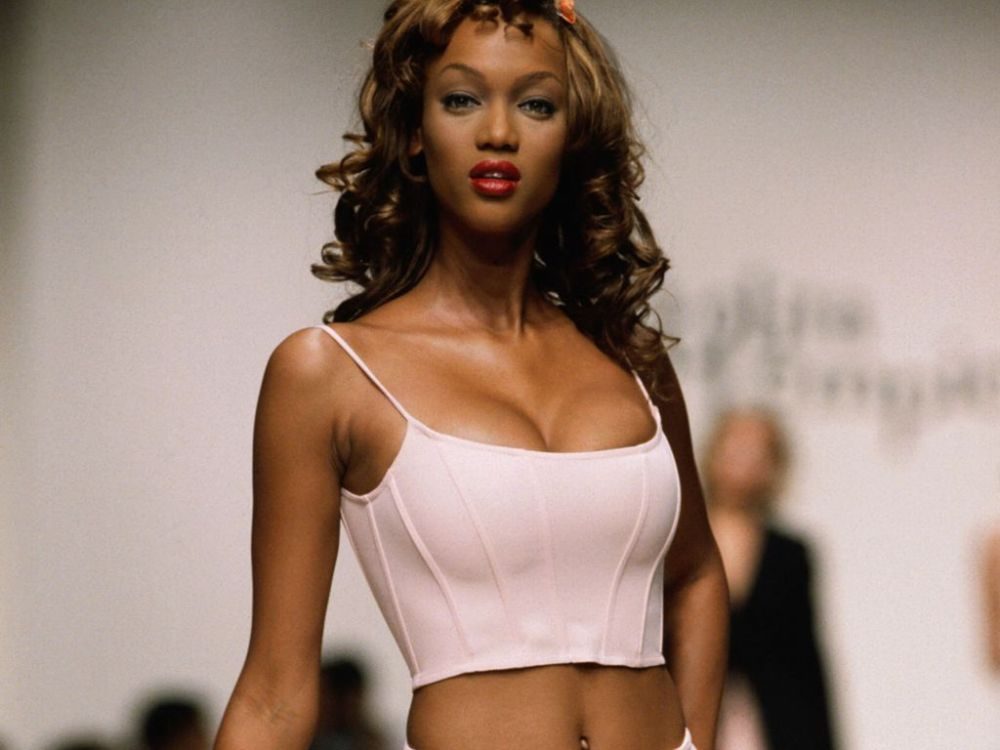 Tyra Banks in 1989