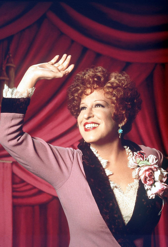 "Bette Midler in the 1993 version of the film ""Gypsy:"