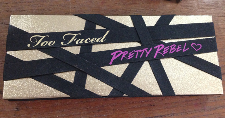Too Faced Pretty Rebel Palette packaging