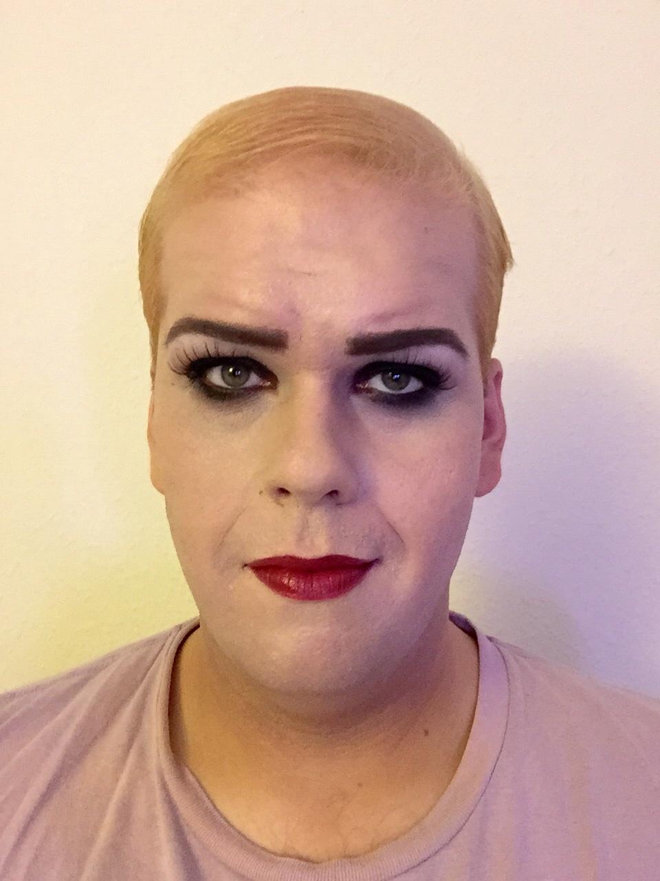 Rocky Horror Picture Show Magenta Halloween Makeup