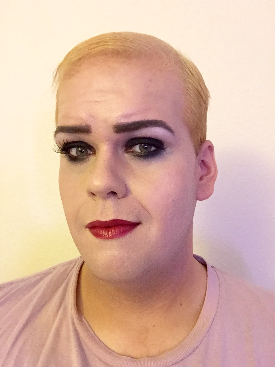Rocky Horror Picture Show Magenta Halloween Makeup